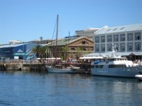 V&A Waterfront in summer