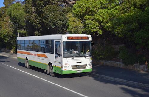 Golden Arrow Bus image by Authentic Travel/shutterstock.com