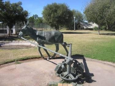 Donkey Monument in Upington