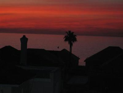 Sunset picture capturesd in Camps Bay