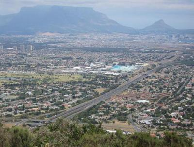 View from Tygerberg in Cape Town's Northern Suburbs