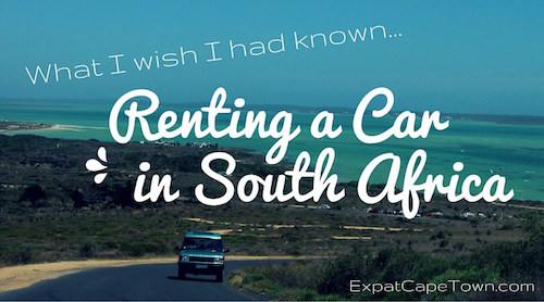 Car rental in Cape Town