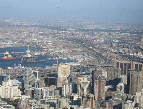 Cape Town CBD, Table Bay and Cape Town Harbour