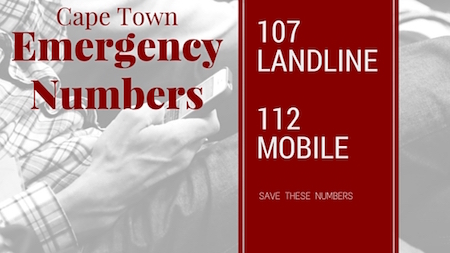 Cape Town Emergency Numbers Emergency And Crisis Help