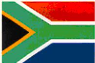 The South Africa Flag