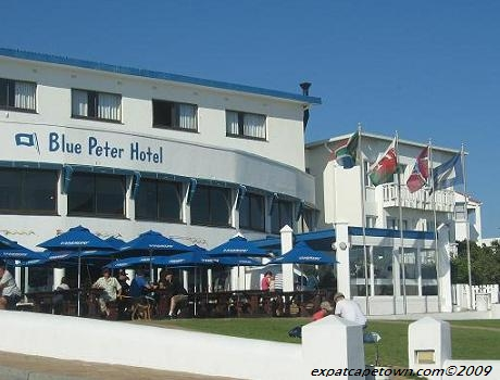 Blaauwberg Beach: Blue Peter Restaurant