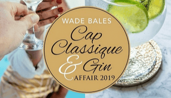 Wade Bales Cap Classique and Gin Affair 2019 in Cape Town