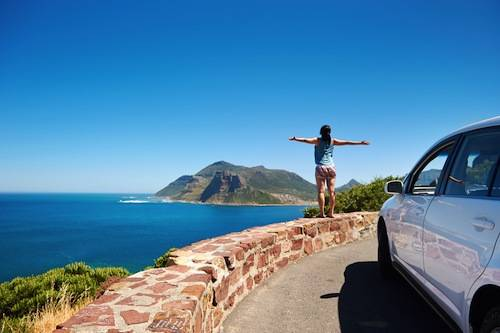On Cape Town's Popular Chapman Peak Drive