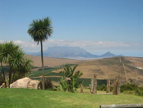 View from Bloemendal in the Durbanville Wine Valley