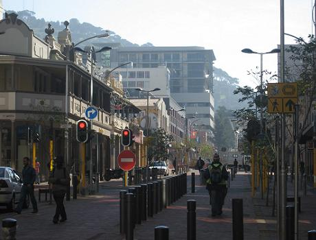 Cape Town Fan walk in Waterkant Street