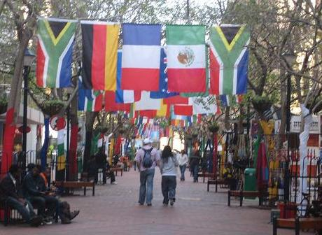 St George's Mall in Cape Town