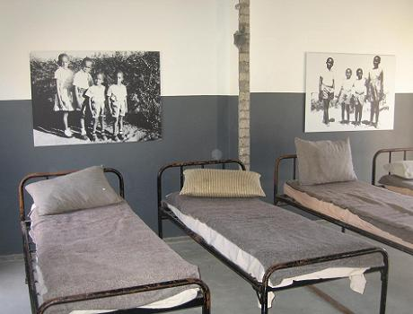 Robert Sobukwe's isolation cell