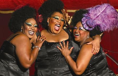 Cape Town Disco Nights divas Lilian Khumalo, Stella Magaba, Dorothy Engelbrecht