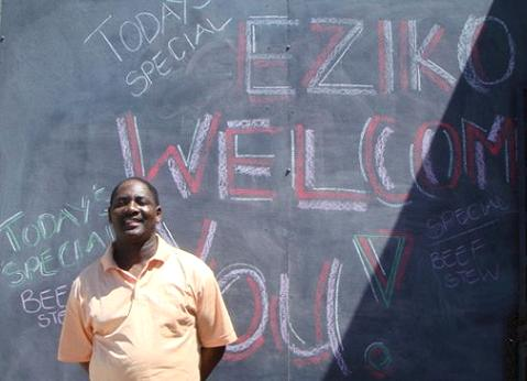 Victor of Eziko welcomes you to share his vision.