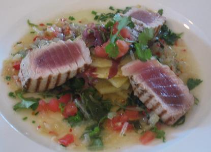 Seared Tuna - The Foodbarn Cape Town