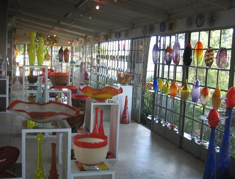Visit the Art Blowing Studio at Seidelberg Wine Estate near Paarl