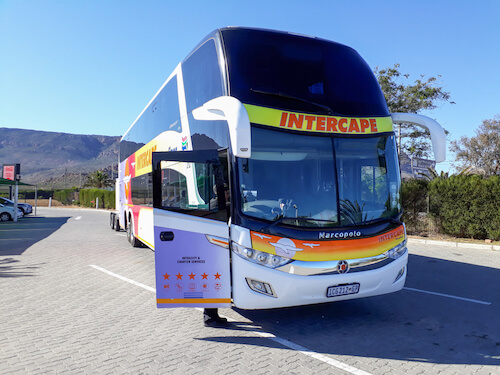 Intercape bus Authentic Travel ssk