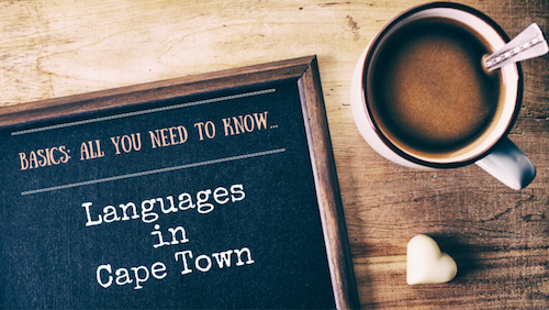 Languages in Cape Town