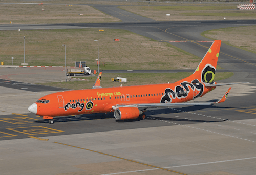 South African Mango airplane image by jean-francois me/Shutterstock