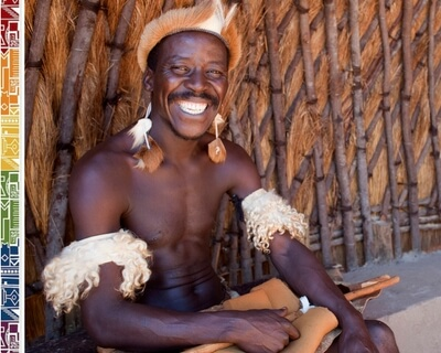 Smiling Zulu - South Africa people - ExpatCapeTown, image by SA Tourism