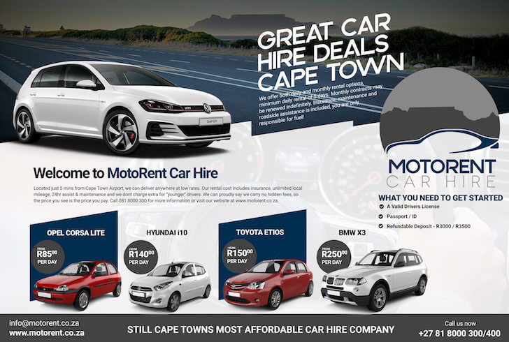 Cape Town Car Rental Car Rental Companies Car Hire Cape Town