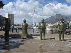 Nobel Square Monument in Cape Town