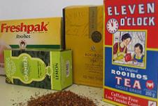 South African Rooibos Tea packs from supermarkets - ExpatCapeTown