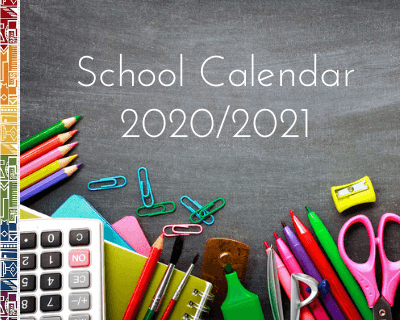 School Calendar 2020 - Terms & Holidays