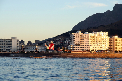 Sea Point Cape Town by Elmarie Dreyer
