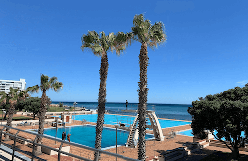 Cape Town Seapoint swimming pool 2019