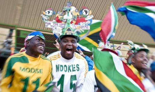 South African Soccer Supporters by Chris Kirchhoff/mediaclubofsouthafrica