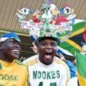 South Africa Soccer Match: Fans copyright by mediaclubsouthafrica