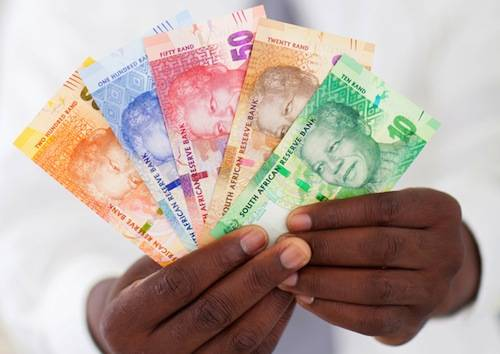 South Africa money, image by Shutterstock