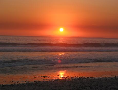 Stunning Sunset Beach North of Cape Town