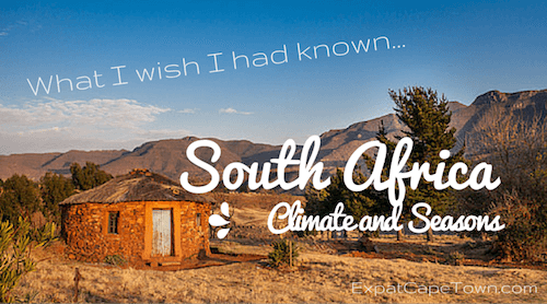 South Africa climate and seasons