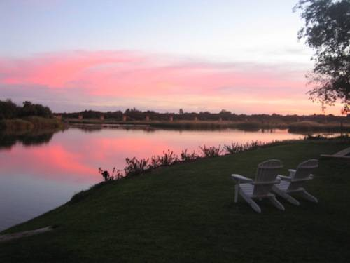 Orange River Sunset