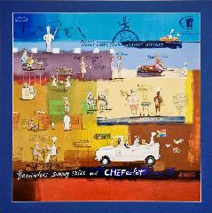 Purchase this lovely print at www.worldchefstour.co.za and support the Chefs Tour