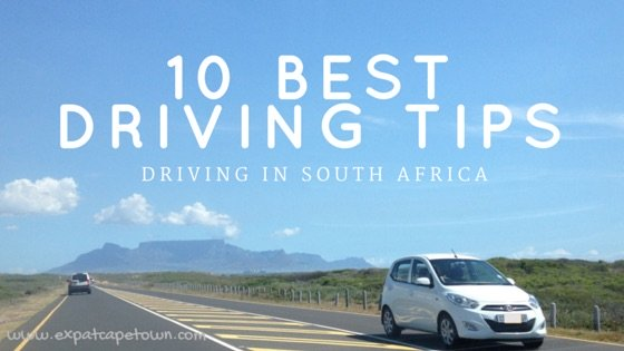 ExpatCapeTown Driving Tips