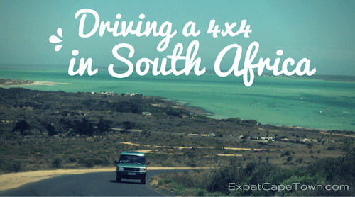 4x4 driving in South Africa