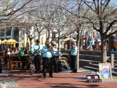 Listen to great jazz music at the Waterfront