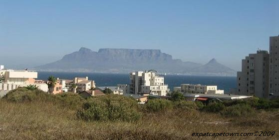View of Table Mountain from Blouberg Rise