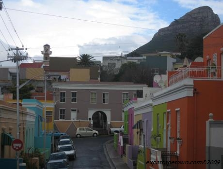 View from Bo Kaap towards Lionshead