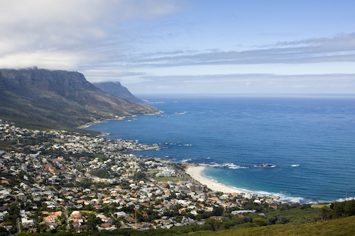 Cape Town Camps Bay, image by Shutterstock