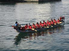 Dragon boat race in Cape Town