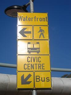 Cape Town Fanwalk Sign