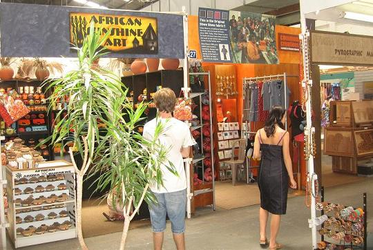 Cape Town Markets: Souvenir Shopping in the Blue Shed