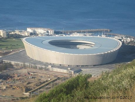 The new Green Point Stadium