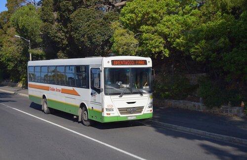 Golden Arrow bus - image by Authentic Travel/ Shutterstock.com