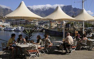 Cape Town Den Anker Restaurant, image by Peter Titmus, Shutterstock.com