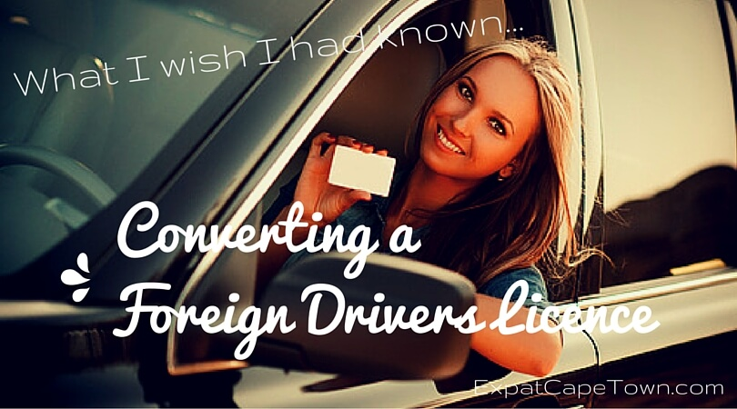 Driving in South Africa with a foreign drivers licence